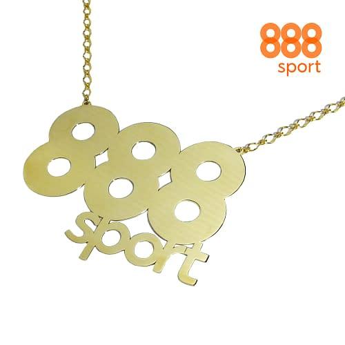 brass necklace handmade for 888 sport